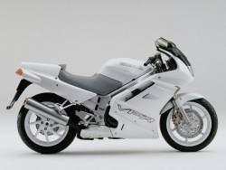 Honda VFR 750F 1991 RC36 white decals kit