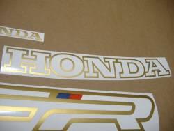 Honda VFR 750F 1991 white adhesives set