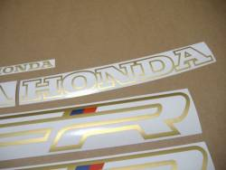 Honda VFR 750F 1991 RC36 white decals