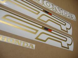 Honda 750 F 1991 Interceptor white stickers set
