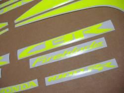 Honda 1000RR 2010 SC59 neon stickers set