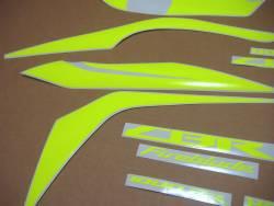 Honda CBR 1000RR 2018 yellow adhesives set