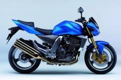 Kawasaki Z1000 2004 Ninja blue stickers
