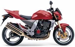 Kawasaki Z1000 2004 Ninja red decals kit