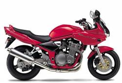 Suzuki GSF 600S 2001 red decals kit