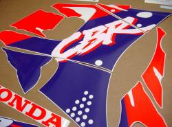 Honda CBR 900RR 1993 custom stickers kit