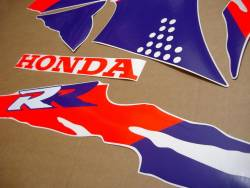 Honda 900RR 1992 SC28 custom stickers set