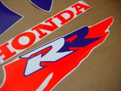 Honda CBR 900RR 1992 custom decals kit