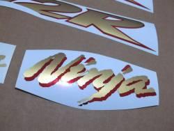 Kawasaki ZX-12R 2003 Ninja gold logo graphics