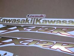 Kawasaki ZX-12R 2001 complete sticker kit