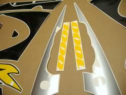 Suzuki GSXR 1000 K1 silver stickers