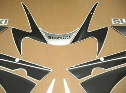 Suzuki GSX-R 1000 K1 silver logo graphics
