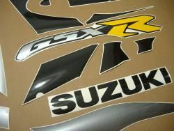 Suzuki 1000 2001 silver stickers kit