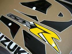 Suzuki GSXR 1000 K1 silver decals