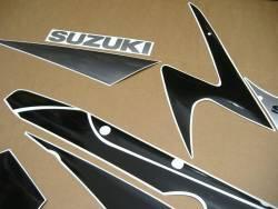 Suzuki 1000 2001 silver complete sticker kit