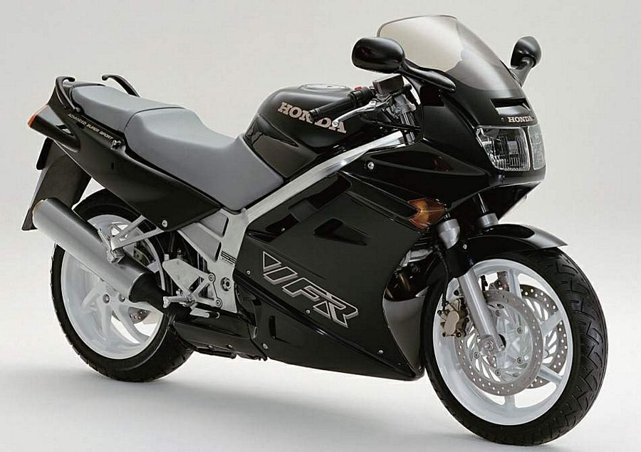 honda vfr 750 rc36 1992 91 interceptor decals set black version moto. Black Bedroom Furniture Sets. Home Design Ideas