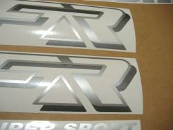 Honda VFR 750F 1992 RC36 black stickers