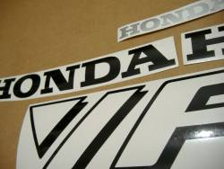 Honda VFR 750F 1990 RC36 white stickers