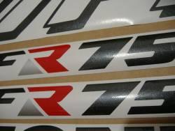 Honda 750 F 1990 Interceptor white full decals kit