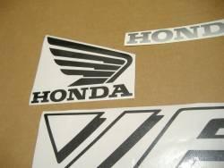 Honda VFR 750F 1990 RC36 white decals kit