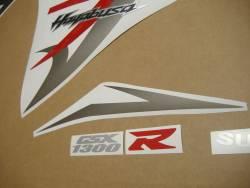 Suzuki Hayabusa 2014 red stickers set