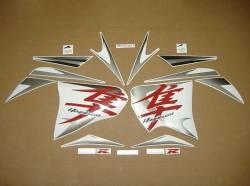Suzuki Hayabusa busa K8 red stickers kit