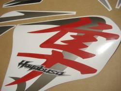 Suzuki Hayabusa 2012 red adhesives set