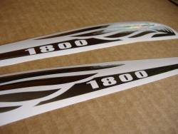 Honda vtx 1800 chrome gas tank decals stickers