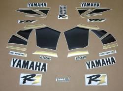Yamaha R1 2000 RN04 5jj gold stickers