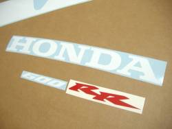 Honda CBR 600RR 2003 custom stickers