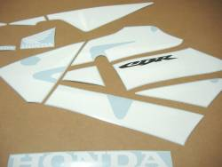 Honda 600RR 2003 custom full decals kit