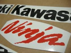 Kawasaki ZX10R 2008 Ninja custom decals kit