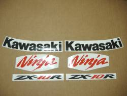 Kawasaki ZX-10R 2008 Ninja custom decals
