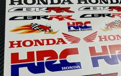 Honda cbr rr woody woodpecker hrc stickers decals