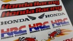 Honda cbr woody woodpecker racing decals logo kit