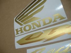 Honda CBR 1000RR 2006 SC57 gold decals