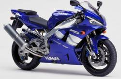 Yamaha R1 2000 RN04 5jj blue stickers