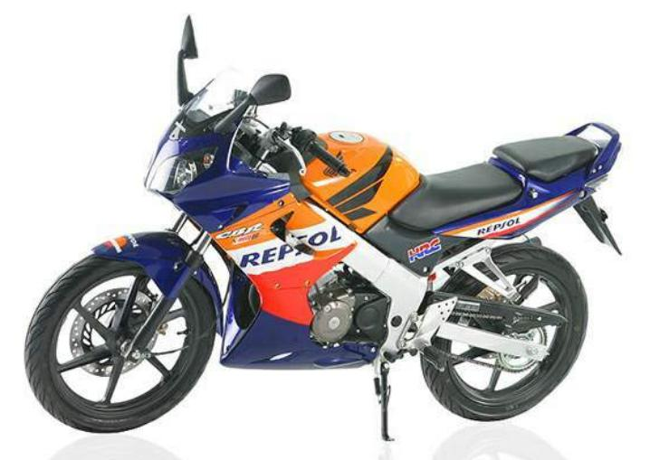 Honda Cbr 150r 2005 Decals Set Full Kit Repsol Edition Version