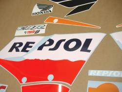 Honda 150R 2005 Repsol full decals kit