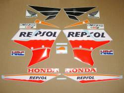 Honda CBR 150R 2005 Repsol labels graphics