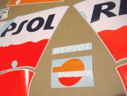 Honda CBR 150R 2005 Repsol stickers kit