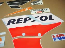 Honda 150R 2005 Repsol decals