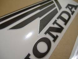 Honda 800i 1999 Interceptor black stickers set