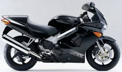 Honda VFR 800i 1999 black EU stickers kit