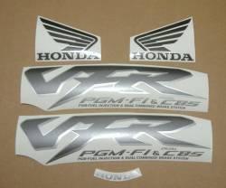 Honda VFR 800i 1999 green adhesives set