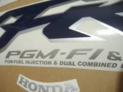 Honda VFR 800i 1999 RC36 blue stickers