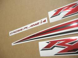 Yamaha YZF R1 2009 RN22 red decals