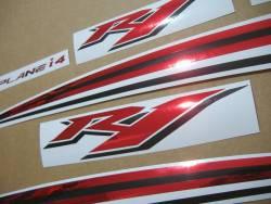 Yamaha R1 2010 14b complete sticker kit