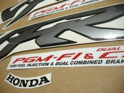 Honda 800i 2000 Interceptor yellow stickers set