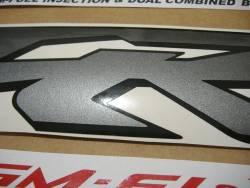 Honda 800i 2000 Interceptor yellow logo graphics